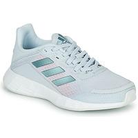 Topánky Dievčatá Bežecká a trailová obuv adidas Performance DURAMO SL K Modrá