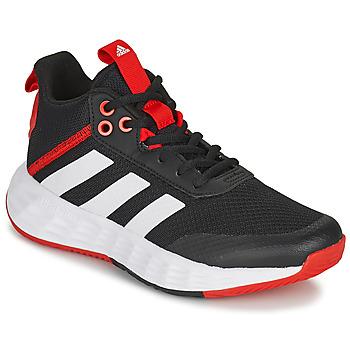 Topánky Deti Basketbalová obuv adidas Performance OWNTHEGAME 2.0 K Čierna / Červená