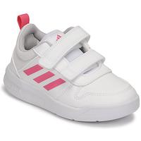 Topánky Dievčatá Nízke tenisky adidas Performance TENSAUR C Biela / Ružová