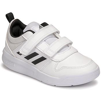 Topánky Deti Nízke tenisky adidas Performance TENSAUR C Biela / Čierna