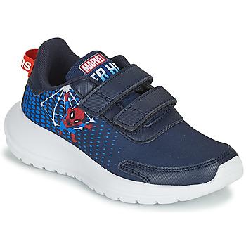 Topánky Chlapci Bežecká a trailová obuv adidas Performance TENSAUR RUN C Modrá