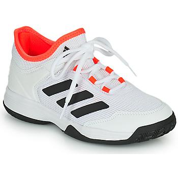 Topánky Deti Tenisová obuv adidas Performance Ubersonic 4 k Biela / Červená