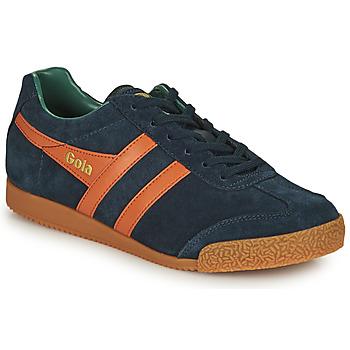 Topánky Muži Nízke tenisky Gola HARRIER Námornícka modrá / Oranžová