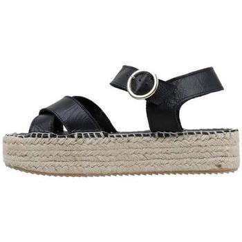 Topánky Ženy Sandále Senses & Shoes  Čierna