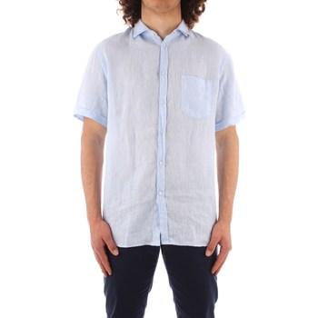 Oblečenie Muži Košele s krátkym rukávom Trussardi 52C00213 1T002248 BLUE