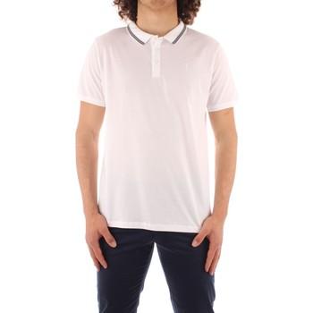 Oblečenie Muži Polokošele s krátkym rukávom Trussardi 52T00501 1T003602 WHITE