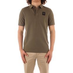 Oblečenie Muži Polokošele s krátkym rukávom Blauer 21SBLUT02329 GREEN