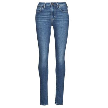 Oblečenie Ženy Rifle Skinny  Levi's 721 HIGH RISE SKINNY Modrá