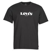 Oblečenie Muži Tričká s krátkym rukávom Levi's SS RELAXED FIT TEE Čierna