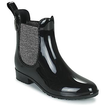 Topánky Ženy Gumaky Les Tropéziennes par M Belarbi RAINBOO Čierna / Strieborná