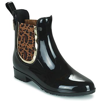 Topánky Ženy Gumaky Les Tropéziennes par M Belarbi RAINBOO Čierna / Leopard
