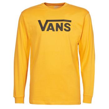 Oblečenie Muži Tričká s dlhým rukávom Vans VANS CLASSIC LS Žltá / Čierna