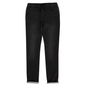 Oblečenie Chlapci Nohavice päťvreckové Teddy Smith JOGGER SWEAT Čierna
