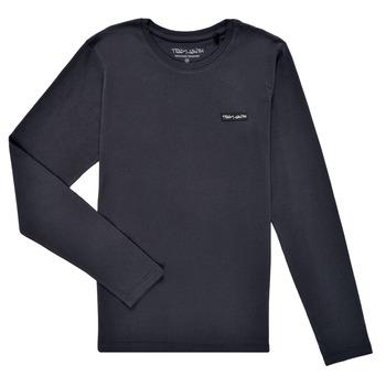 Oblečenie Chlapci Tričká s dlhým rukávom Teddy Smith T-NARK ML Námornícka modrá