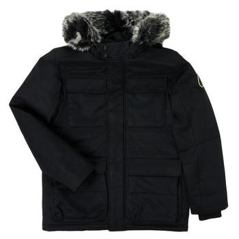 Oblečenie Chlapci Parky Teddy Smith P-SIL Čierna