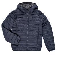 Oblečenie Chlapci Vyteplené bundy Teddy Smith BLIGHTER Námornícka modrá