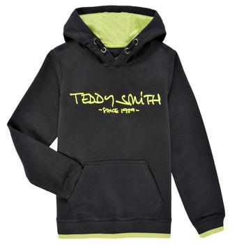 Oblečenie Chlapci Mikiny Teddy Smith SICLASS HOODY Čierna