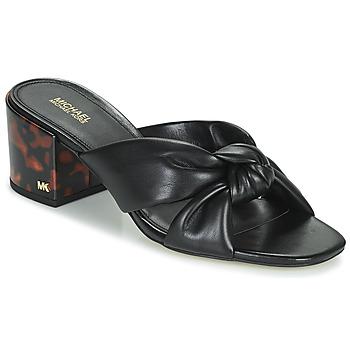 Topánky Ženy Šľapky MICHAEL Michael Kors JOSIE Čierna