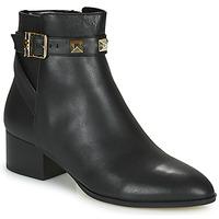 Topánky Ženy Polokozačky MICHAEL Michael Kors BRITTON Čierna
