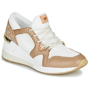 Topánky Ženy Nízke tenisky MICHAEL Michael Kors LIV Ťavia hnedá / Biela