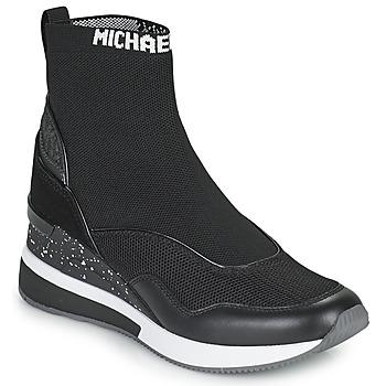 Topánky Ženy Členkové tenisky MICHAEL Michael Kors SWIFT Čierna