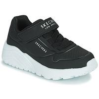 Topánky Deti Nízke tenisky Skechers UNO LITE Čierna