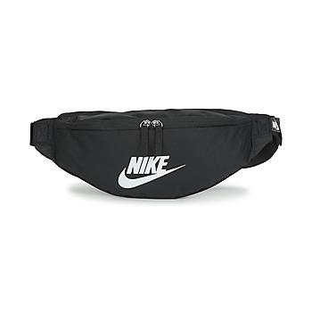 Tašky Ľadvinky Nike NK HERITAGE WAISTPACK - FA22 Čierna / Biela