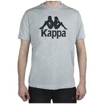 Oblečenie Muži Tričká s krátkym rukávom Kappa Caspar Sivá
