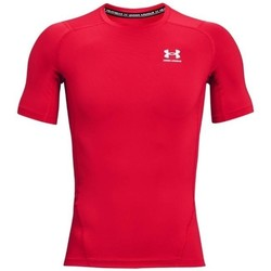 Oblečenie Muži Tričká s krátkym rukávom Under Armour Heatgear Armour Červená