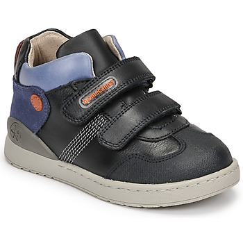 Topánky Chlapci Členkové tenisky Biomecanics BIOEVOLUTION BOY Námornícka modrá
