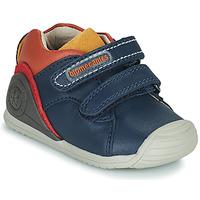 Topánky Chlapci Nízke tenisky Biomecanics BIOGATEO CASUAL Námornícka modrá