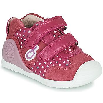 Topánky Dievčatá Nízke tenisky Biomecanics BIOGATEO SPORT Ružová