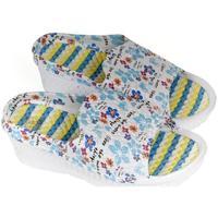 Topánky Ženy Šľapky John-C Dámske modré šľapky ETHA svetlomodrá