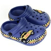 Topánky Chlapci Nazuvky John-C Detské modré crocsy CAR modrá