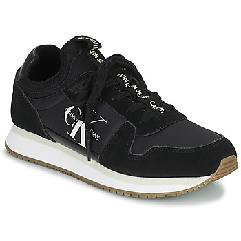 Topánky Ženy Nízke tenisky Calvin Klein Jeans RUNNER LACEUP Čierna