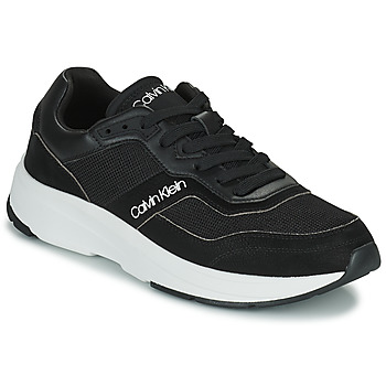 Topánky Muži Nízke tenisky Calvin Klein Jeans LOW TOP LACE UP MIX Čierna