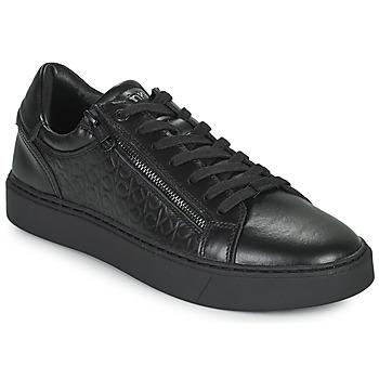 Topánky Muži Nízke tenisky Calvin Klein Jeans LOW TOP LACE UP Čierna