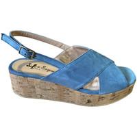 Topánky Ženy Sandále Soffice Sogno SOSOE21791sky blu