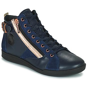 Topánky Ženy Členkové tenisky Pataugas PALME Námornícka modrá / Ružová
