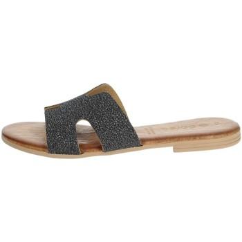 Topánky Ženy Šľapky Dorea MH103 Charcoal grey