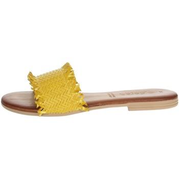 Topánky Ženy Šľapky Dorea MH101 Yellow