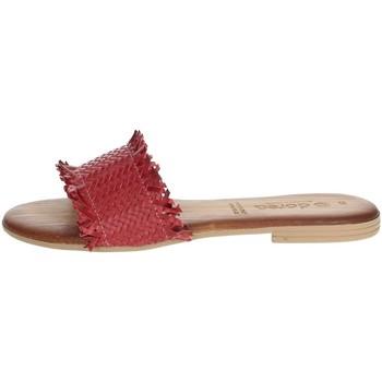 Topánky Ženy Šľapky Dorea MH101 Red