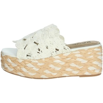 Topánky Ženy Šľapky Keys K-4860 White