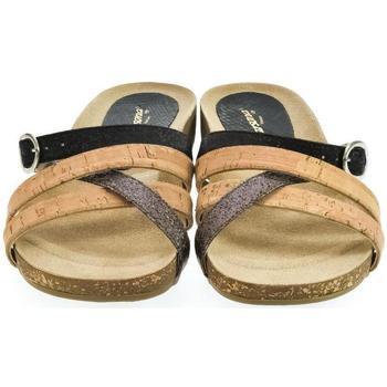 Topánky Ženy Šľapky Carsona Dámske korkové šľapky DAPRA čierna