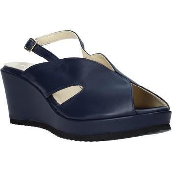 Topánky Ženy Sandále Esther Collezioni ZB 115 Modrá