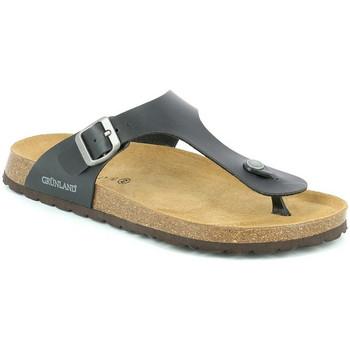 Topánky Muži Žabky Grunland CB3014 čierna