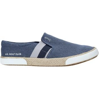 Topánky Muži Slip-on U.s. Golf S20-SUS101 Modrá
