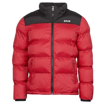 Oblečenie Vyteplené bundy Schott UTAH Červená