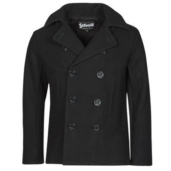 Oblečenie Muži Kabáty Schott USS 20 Čierna