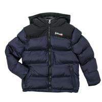 Oblečenie Deti Vyteplené bundy Schott UTAH 2 Námornícka modrá